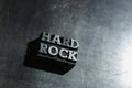 Fundo do HARD ROCK do metal Imagem de Stock