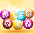 Fundo do jackpot Foto de Stock Royalty Free