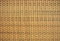 Fundo do weave do Rattan Imagem de Stock Royalty Free
