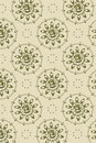 Fundo - a flor gráfica enfrenta a diagonal Imagens de Stock Royalty Free