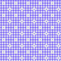 Fundo roxo da tela do guingão Foto de Stock Royalty Free