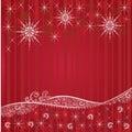 Fundos festivos vermelhos do Natal Foto de Stock Royalty Free