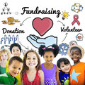 Fundraising Donation Heart Charity Welfare Concept Royalty Free Stock Photo