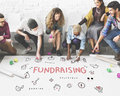 Fundraising Donations Charity Foundation Support Concept Royalty Free Stock Photo