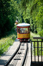The funicular line Turmberg, Karlsruhe, Germany Stock Photo