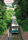 Funicular in Prague Stock Photos