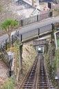 Funicular Railway and Bridges Royalty Free Stock Photo