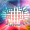 Funky 3D Background Royalty Free Stock Photography