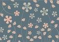 Funky bloemen Royalty-vrije Stock Afbeelding