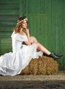 Funky Bride Royalty Free Stock Photo