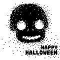 Funky cute sugar skull for a Happy Halloween season Royalty Free Stock Photo