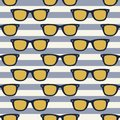 Funky glasses pattern