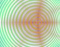Funky target Στοκ Εικόνα