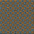 Funky woven background Stock Image