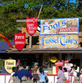 Funnel Cakes Shop Royalty Free Stock Photography