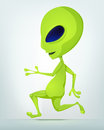 Funny Alien Royalty Free Stock Image