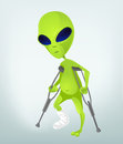 Funny Alien Royalty Free Stock Photos