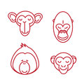 Funny Animal Vector Illustrati...