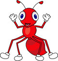 Funny ant cartoon Stock Photos