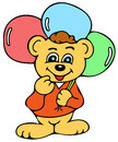 Funny bear on this picture you can see cute you can use this picture for all your needs very high quality hand drawing Stock Image