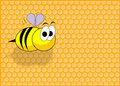 Funny bee Stock Images