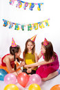 Funny birthday party Stock Image