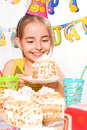 Funny birthday party Stock Photo