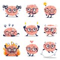 Funny brain cute training and many action