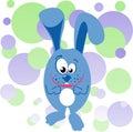 Funny bunny illustration