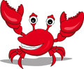 A funny cartoon crabs Royalty Free Stock Photo