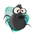 Funny cartoon fly illustration of a Royalty Free Stock Photo