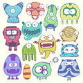 Funny characters this is file of eps format Royalty Free Stock Image