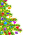 Funny christmas tree Royalty Free Stock Images