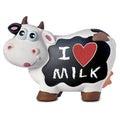 Funny Cow Blackboard Love Milk Royalty Free Stock Photo