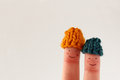 Funny Finger People Couple Win...