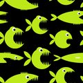 Funny fish cartoon for your design Royalty Free Stock Photo