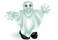 Funny ghost on a white background Royalty Free Stock Photos