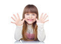 Funny girl Royalty Free Stock Photo