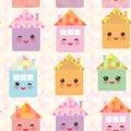 Funny Happy House Set, Kawaii ...