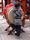 Funny Japanese kid Royalty Free Stock Photo
