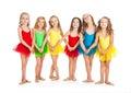 Funny Little Ballet Dancers