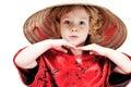 Funny little lovely girl Royalty Free Stock Images