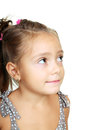 Funny lovely little girl Royalty Free Stock Photos