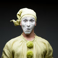 Funny mime Royalty Free Stock Photo
