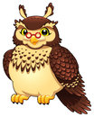 Funny owl. Stock Photography