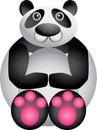 Funny Panda Royalty Free Stock Image