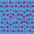 Funny pattern pattern pattern, colorful, abstract, illustration, Wallpaper, baby, flowers, seamless, decoration, cartoon, color, b