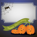 Funny pumpkin for the holiday halloween Royalty Free Stock Photo