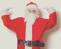 Funny Santa Claus have a joy Royalty Free Stock Photo