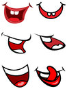 Funny smile mouths